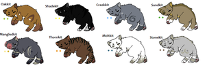 Warrior cat Adopts *KITS* Closed by Evertooth