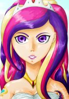 Princess Cadence by ChiiBe