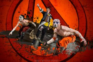 Well Played: EB Expo 2013 - Villainous Trio by magicmissilestudios