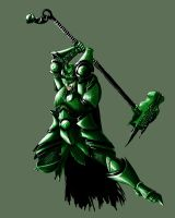 Jade Draconian Attack by TBPlayer