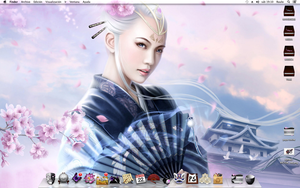 Geisha Mavericks Desktop by ADES21