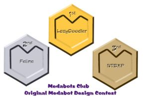 Original Medabot Design Award by medabots