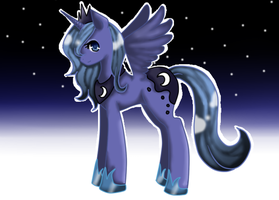 Princess Luna by rozenpandachan