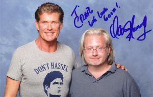 lfcc 2013 David Hasselhoff by BiffTech
