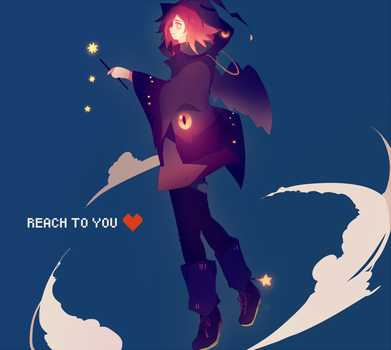 reach to you . by Hoshi-Pan