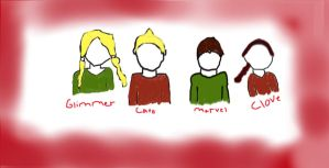 The Career tributes :without faces: by FallenTributes