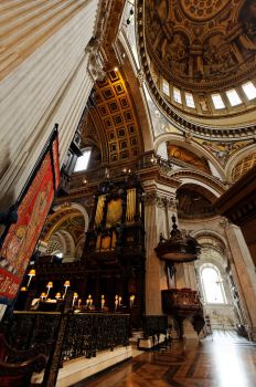The Grand Organ of St Paul's by squareonion