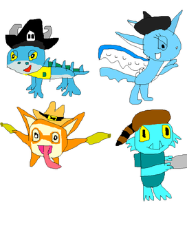 Skylanders with hats part 2 by imthecutest1238