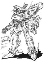 Armored core for Answer by CHAOSKNIGHT8492