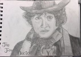 The Fourth Doctor (doctor who) by MoomooKittens