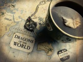 Dragons Of The World by october84stardust