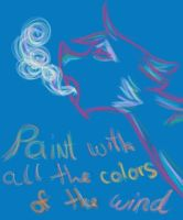 All the colors of the wind by catseathedevil