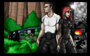 Mass effect 3 James and shepard ending by rotten-jelly-babie