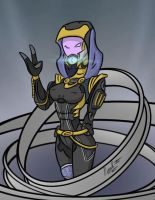 Tali's armour 1 by fakefrogs