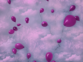 Balloon Stock Wallpaper by WDWParksGal-Stock