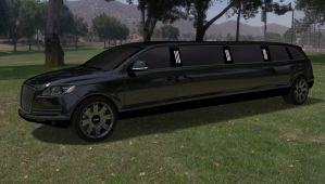 Limousine luxury by TheRedCrown