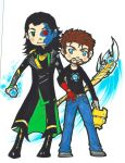 The Trickster and The Engineer by WhatItMeansToBeHuman