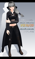 MMD NC: Self (VOCALOID MIRIAM cosplay) by EmberBertinelli