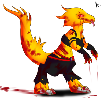 Swapfell Alphys by Lovelatias