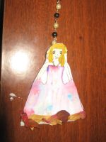 Princess Bookmark by AbstractWater