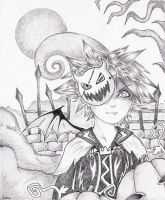 Sora of Halloween Town by Ciril-chan