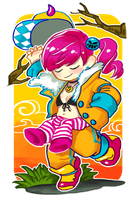Extra Chibi for Jumpsuit girl by Acusta