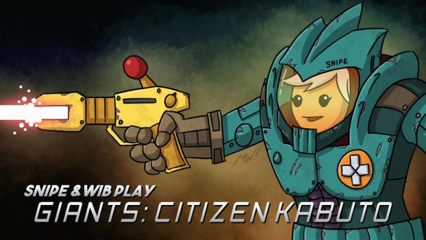 Giants: Citizen Kabuto Title Card by wibblethefish