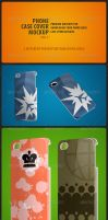 Phone Case Cover Mockup pack Vol-1 by MockupMania