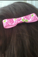 Rose Hairbow by Rainbowkitty-Designs