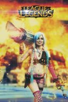 Jinx - League Of Legends cosplay by FrancoRot