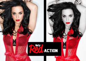 Only Red ACTION by rexbee