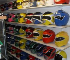 Some of my ranger helmets by matt3335