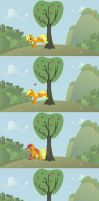 The betrayal of the apple tree by dingdingxu377