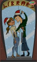 ''_DxC_ christmas kiss_By_CourtG'' by CourtG