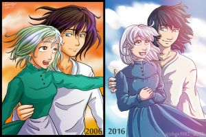 Howl's Moving Castle - Redrawn by irishgirl982