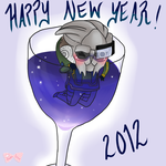 Happy New Year by Tsukahime
