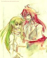 Grell and C.C. by lin-tsukerman