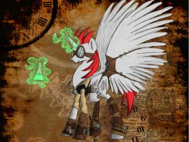 Steam Punk Dark Luck by clownbard