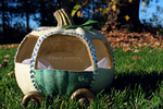 Pumpkin Carriage by BritLawrence