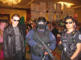 Anime Vegas Albert Wesker, RPD SWAT and BSAA by Demon-Lord-Cosplay