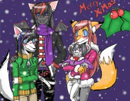 X-mas, Furry Style~! by Pineapplelove1869