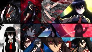 Akame collage by Dinocojv