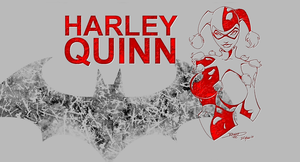 harley quinn/batman wallpaper/backround in hi def! by KairoFall