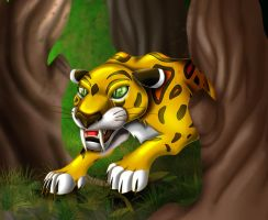 Sabor The Leopard by SonARTic