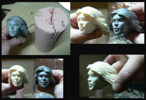 Head mould 2 by Leebea