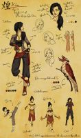 Character Design: Kira (Legend of Korra) by requiemist