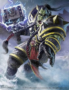 World of Warcraft Tribute: Thrall by steven-donegani
