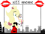 Laelia and puppy ER kissing Meme by RaniRabbit