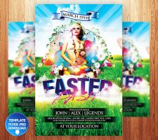 Easter Bash Flyer Template by Grandelelo