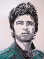 Noel T Gallagher by Mazzi294